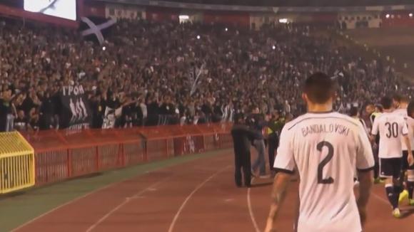 Радост за Бандаловски и компания след дербито на Сърбия