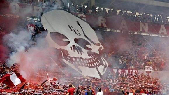 Ето я бомбата която рани 11 фенове на Торино на мача с Ювентус