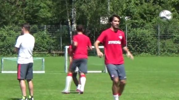 Попето и московския Спартак водят подготовка при прекрасни условия в Швейцария