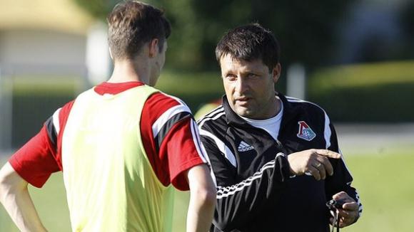 Локомотив (М) тренира преди сблъсъка с Лудогорец