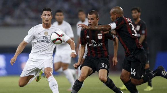 Триковете на Роналдо срещу Милан