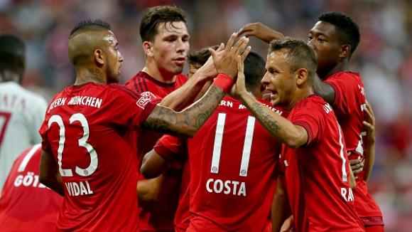 Байерн (Мюнхен) - Милан 3:0