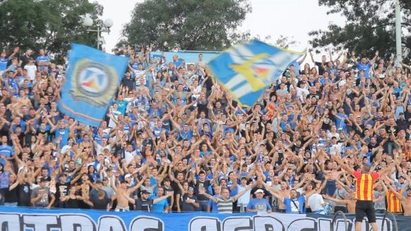 """Мощна """"синя"""" подкрепа за Левски срещу Пирин"""