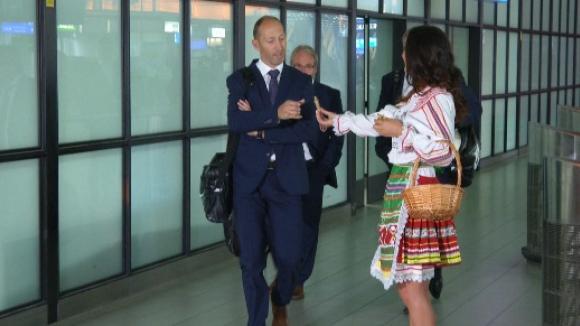 Норвегия пристигна в София, играчите безмълвни