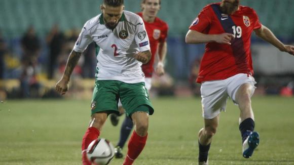 България - Норвегия 0:1