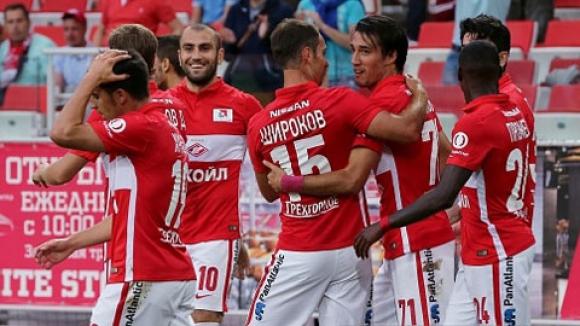 Мордовия - Спартак (М) 0:1 (Гол на Ивелин Попов)