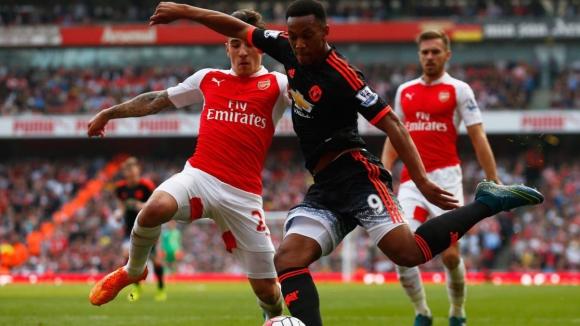 Арсенал - Манчестър Юнайтед 3:0
