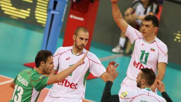 България - Германия 3:0 (25:20, 25:17, 25:20)