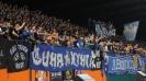 """Ултрас Сектор """"Б"""" в действие на стадиона в Ловеч"""