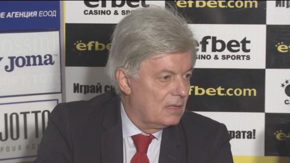 Валентин Михов: Придобиването акциите на Литекс е единственото спасение за ЦСКА