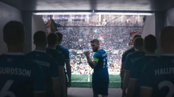 Рекламата, която надъха Исландия за триумфа срещу Англия