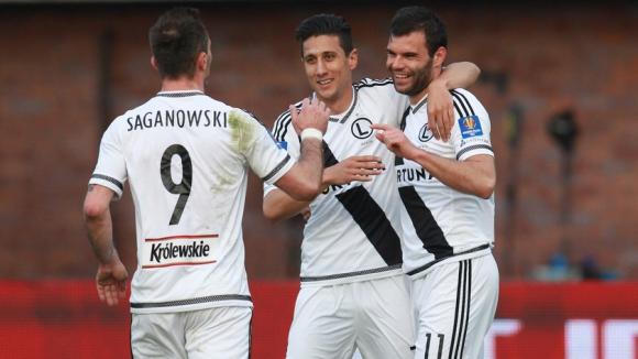 Мишо Александров с 2 гола при разгромна победа на Легия