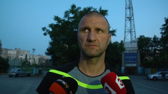 Костадин Ангелов коментира ситуацията в ЦСКА
