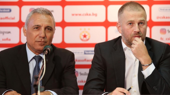 Стоичков обясни избора на Йорданеску и обяви новите директори в ЦСКА-София