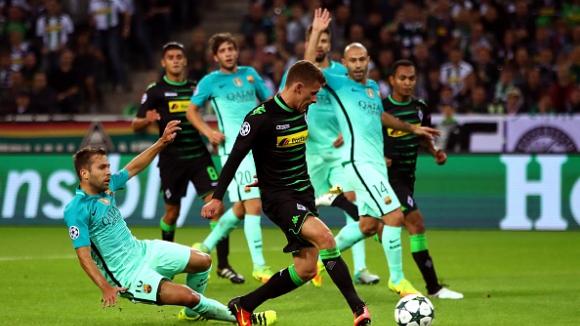 Борусия (Мьонхенгладбах) - Барселона 1:2