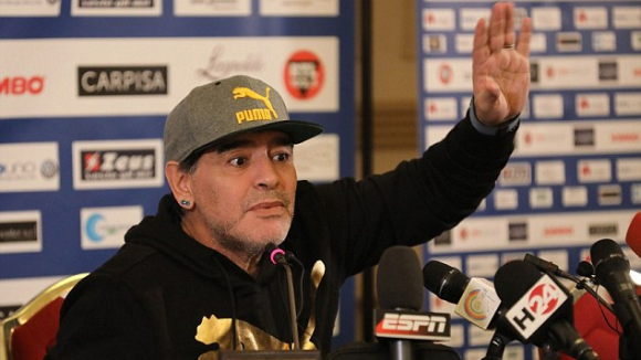 "Диего Марадона става посланик на ""Наполи"""