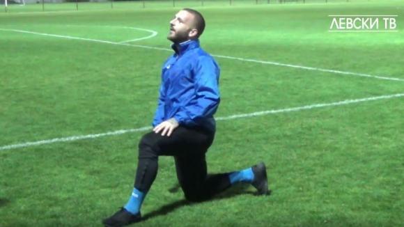 Янис Скондрас с първа тренировка при Роко Перота
