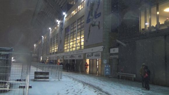 Снеговалеж в Дания, реваншът под покрив