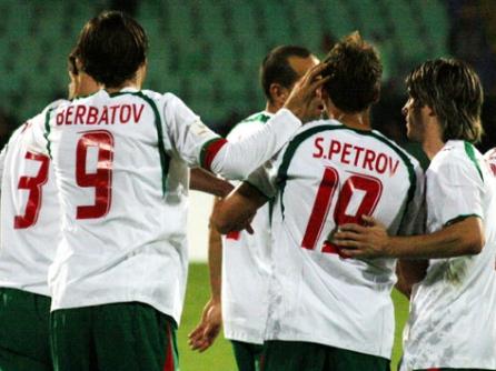 България - Люксембург 3:0, Бербатов вече с 37 гола