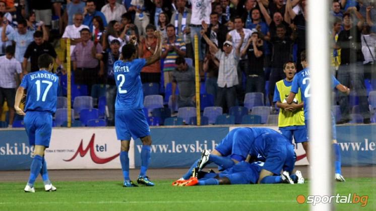 Левски победи АИК с 2:1