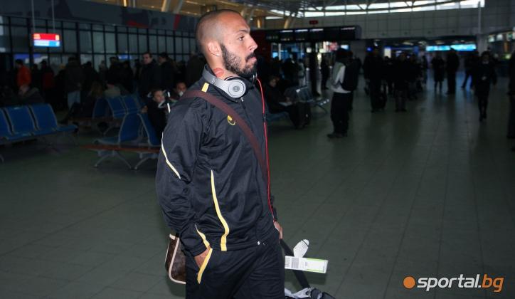 Футболистите на Ботев (Пловдив) се прибраха от Кипър