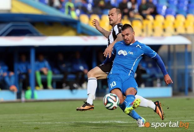 Левски победи Локомотив (Пловдив) с 2:1