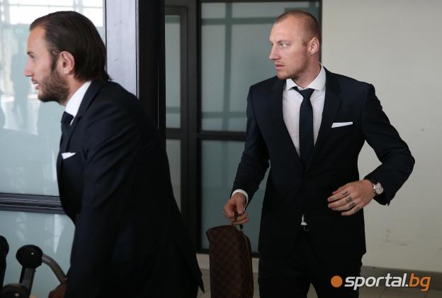 Иван Иванов и Базел пристигнаха в София