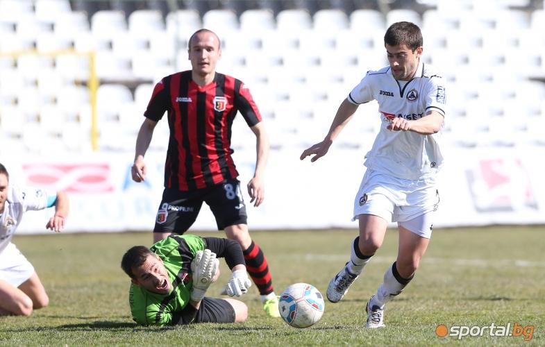 Славия победи Локо Пд с 3:0