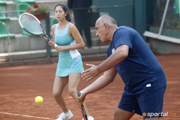 Бойко Борисов спечели VIP турнир по тенис