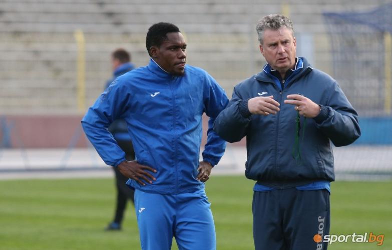 Левски тренират преди срещата с Монтана