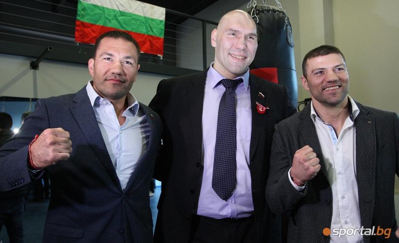 Валуев подкрепи Кобрата за мача му през май