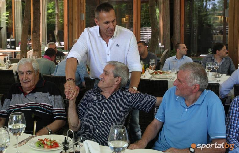 """""""Сини сърца"""" се събраха за честване на 40 години от победата над Барса"""