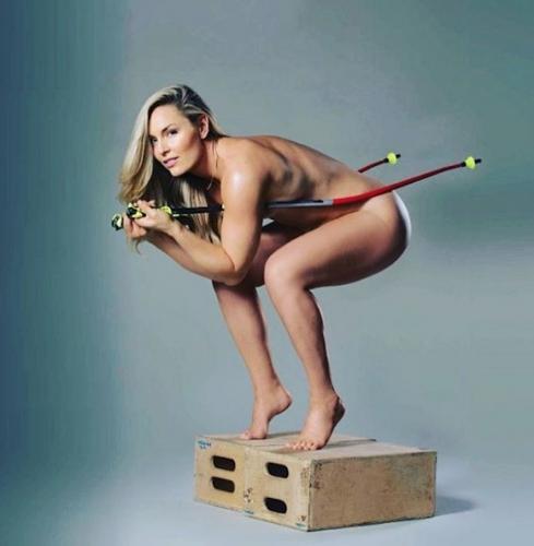 Линдзи Вон - секссимволът на алпийските ски