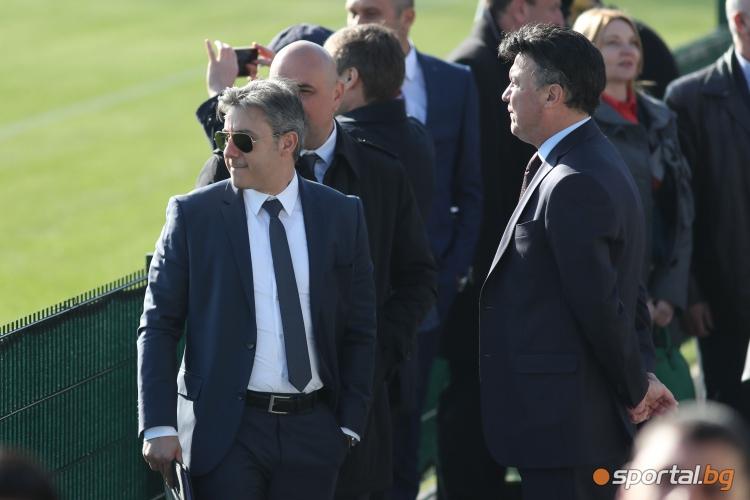 """Официално откриха Национална футболна база """"Бояна"""""""