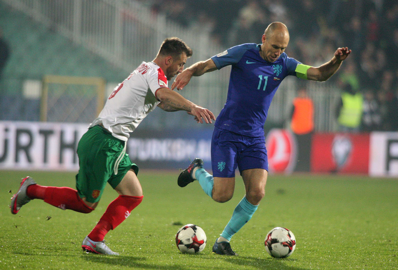 България победи Холандия с 2:0 в София - част II