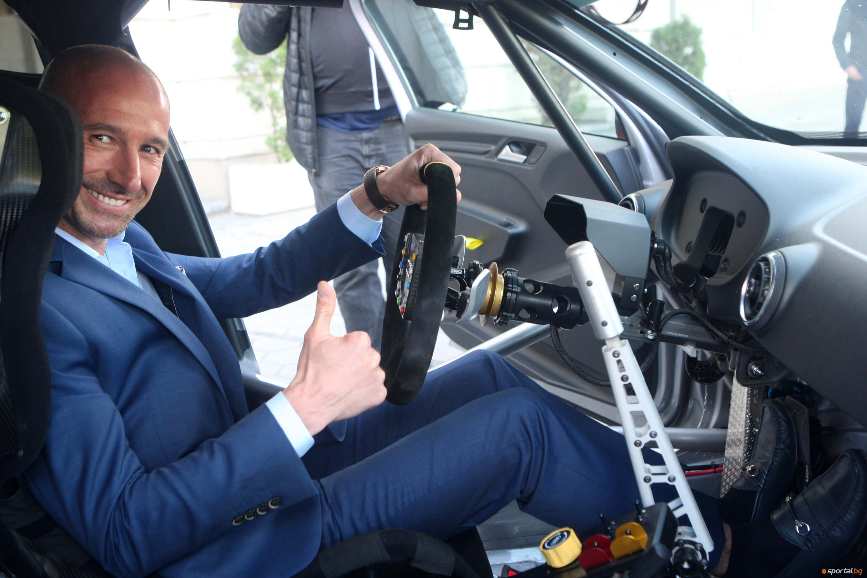 Пламен Кралев представи новия автомобил