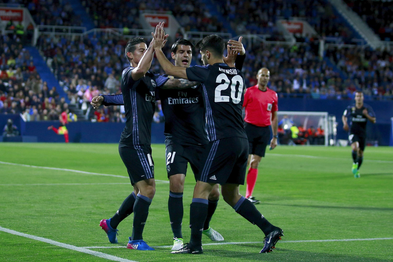 Леганес - Реал Мадрид - 2:4
