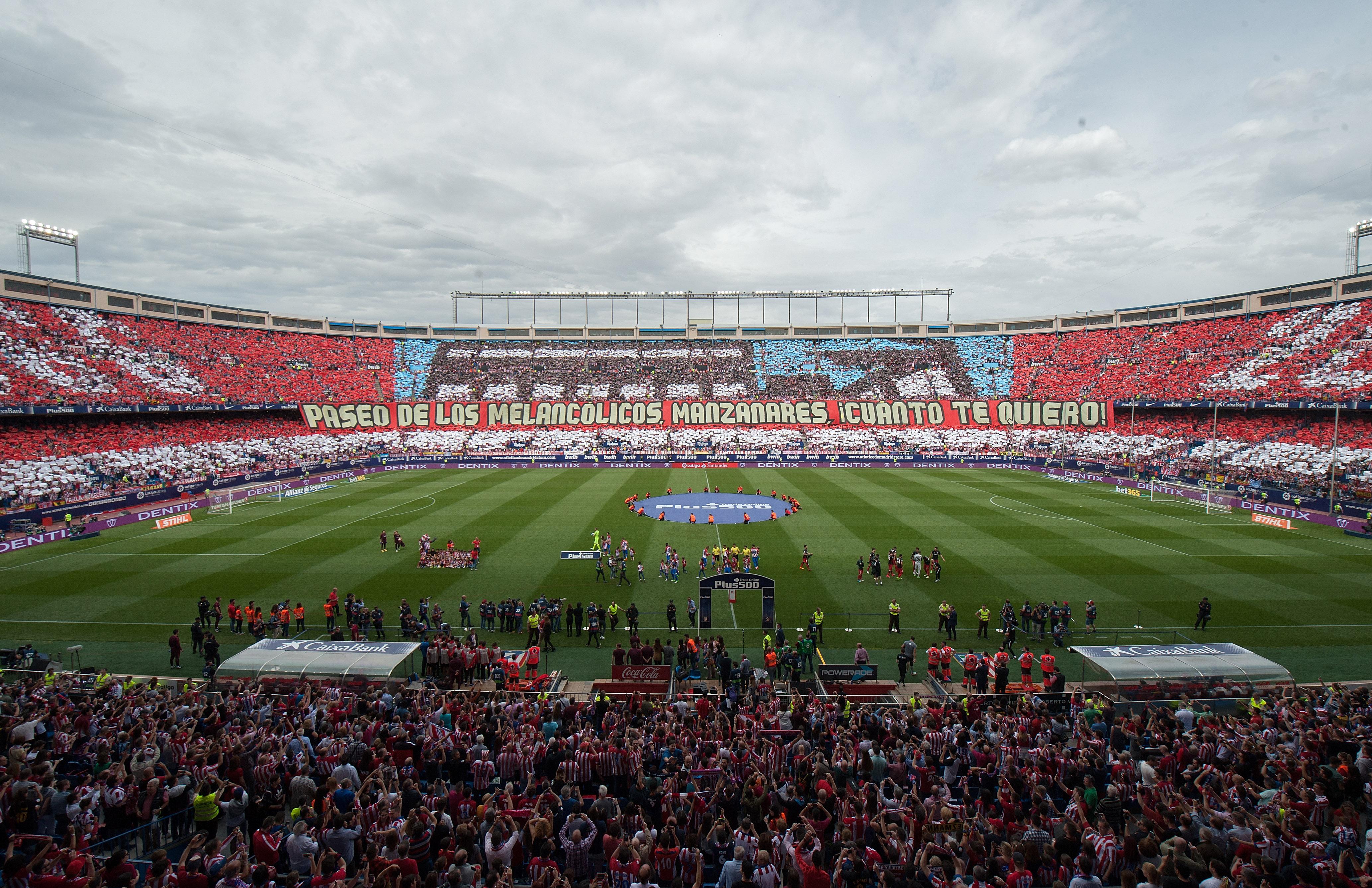 """Атлетико изигра последния си мач на """"Калдерон"""""""
