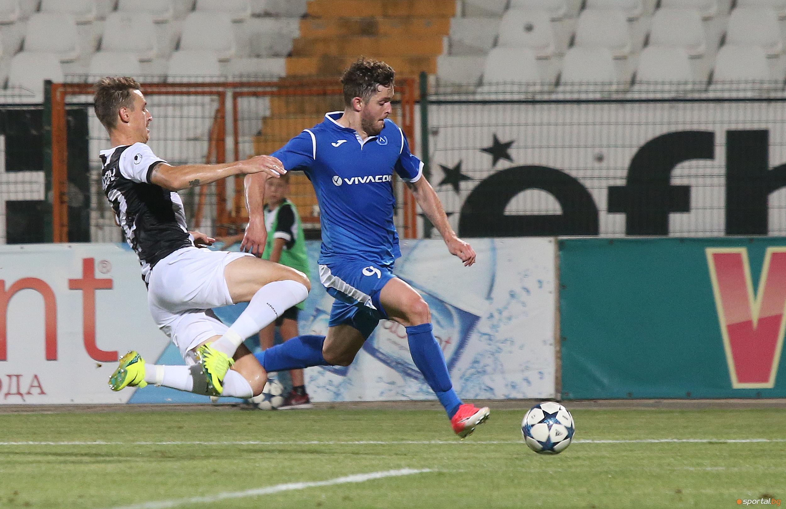 Локомотив (Пд) - Левски 0:0