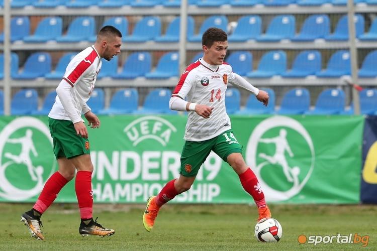 България U19 - Англия U19