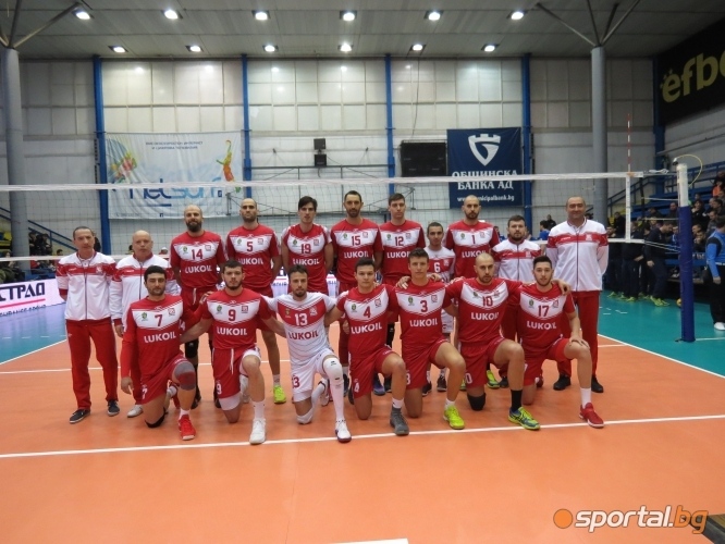Полуфинал №1 на Купата на България: Хебър - Нефтохимик 0:2