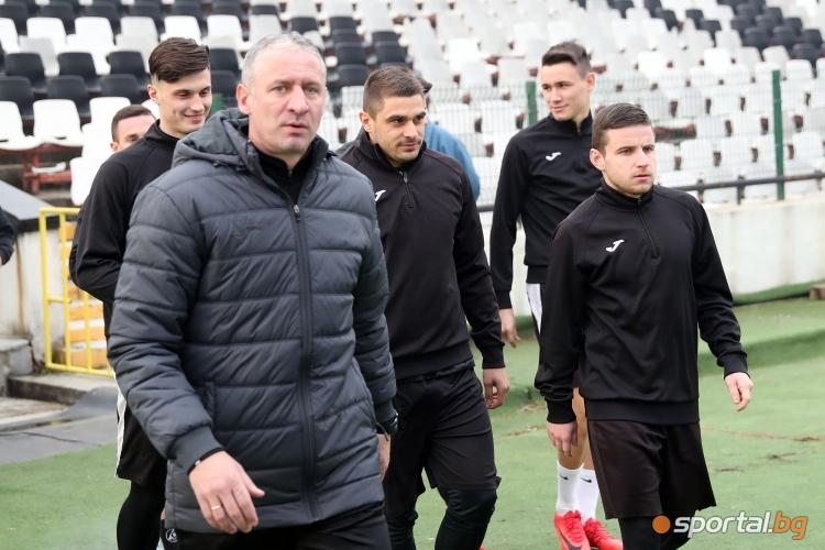 Мартин Кушев, Стефан Велков, Емил Мартинов, Иван Минчев