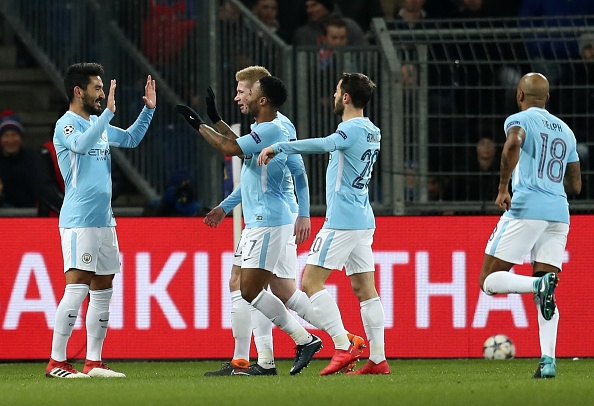 Базел - Манчестър Сити 0:4