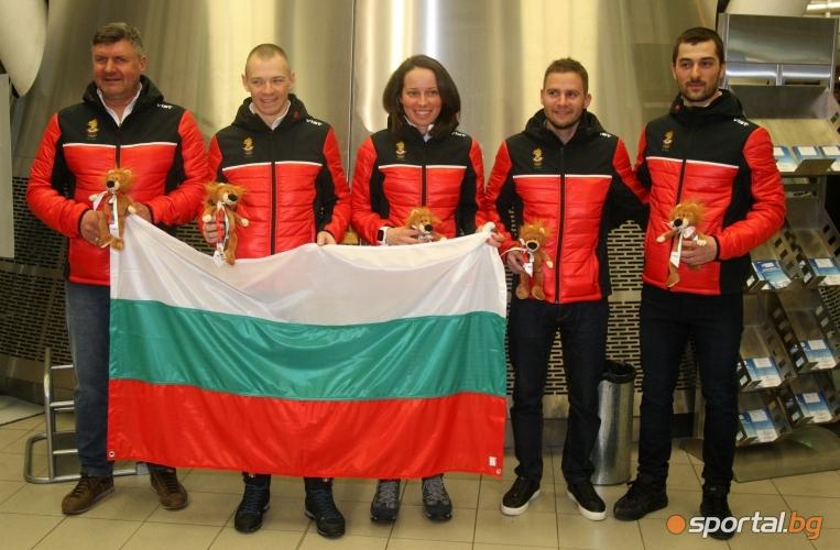 Антония Григорова, Веселин Цинзов и Йордан Чучуганов заминаха за  Пьончанг