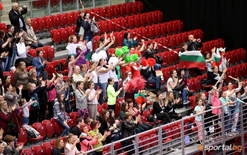 Българският ансамбъл разби конкуренцията за титлата в многобоя