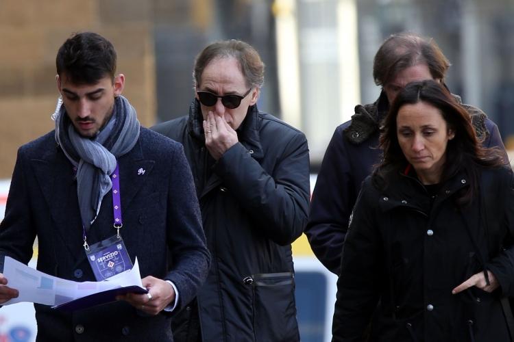Световни легенди и хиляди тифози отдадоха последна почит на Давиде Астори