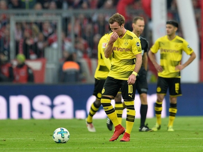 Байерн (Мюнхен) - Борусия (Дортмунд) 6:0