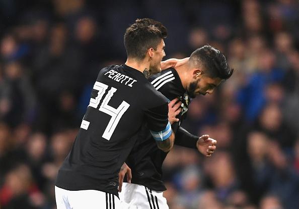 Италия - Аржентина 0:2