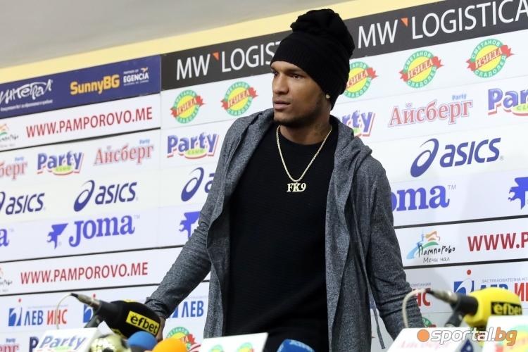 Фернандо Каранга е играч на кръга след гола срещу Левски