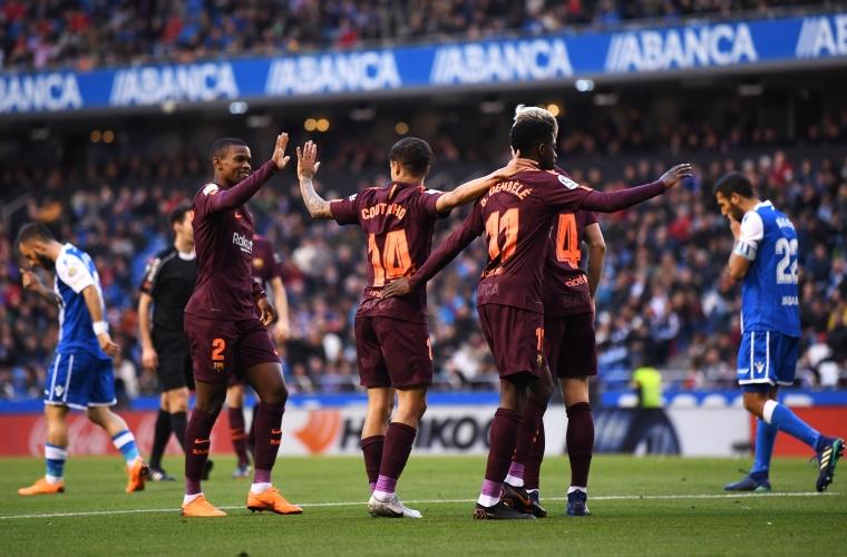 Барселона посяга към шампионската титла